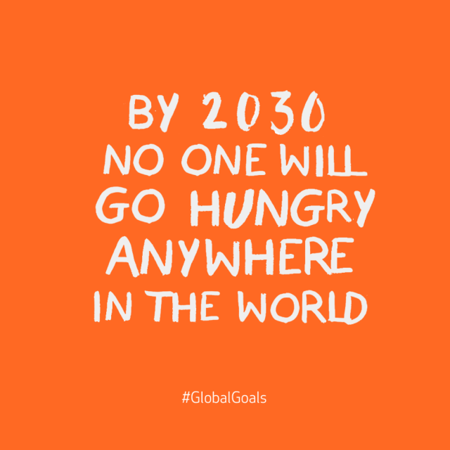 No Hunger 2030 Quote
