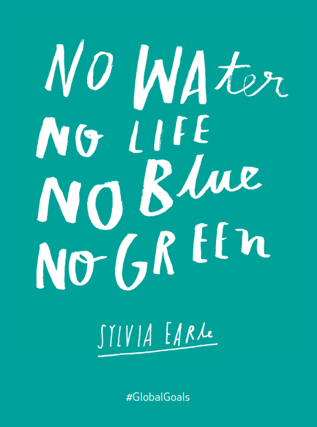 Life Below Water Sylvia Earle Quote