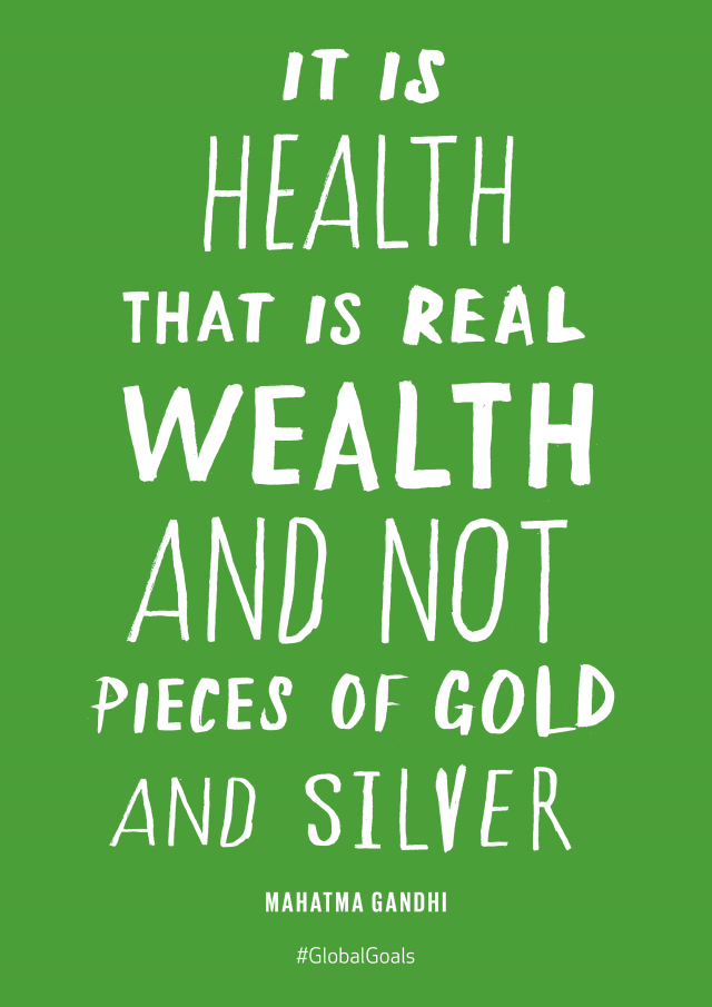 Good Health Mahatma Gandhi Quote