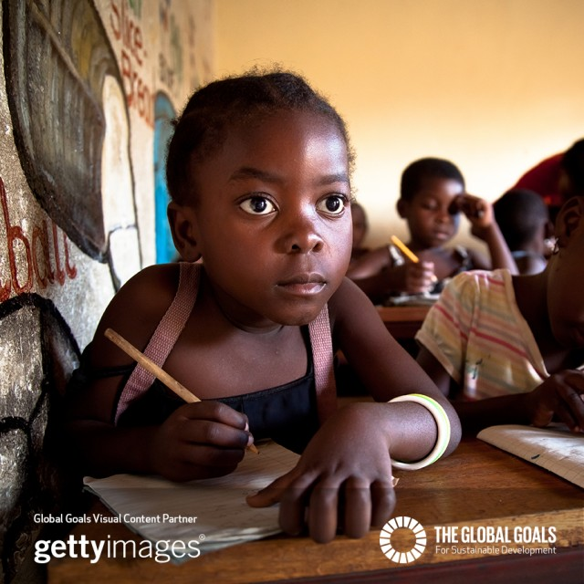 I'm supporting @TheGlobalGoals #Goal4 to give everyone access to an education. Which goal are do you care most about?