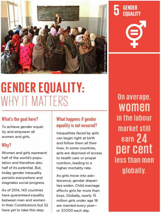 gender equality introduction paragraph