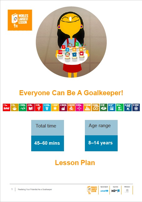 All Lesson Plans For The Global Goals | The Worlds Largest Lesson
